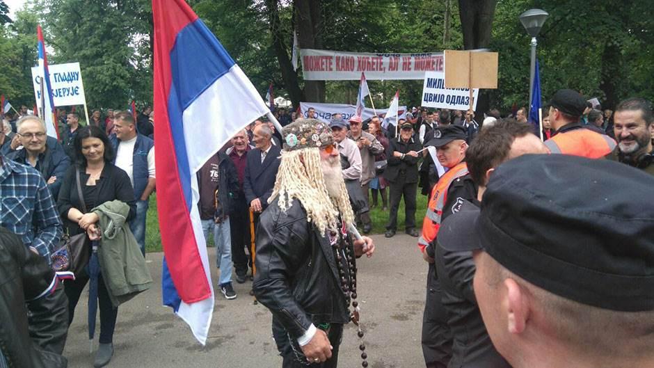 banjaluka, miting, protest