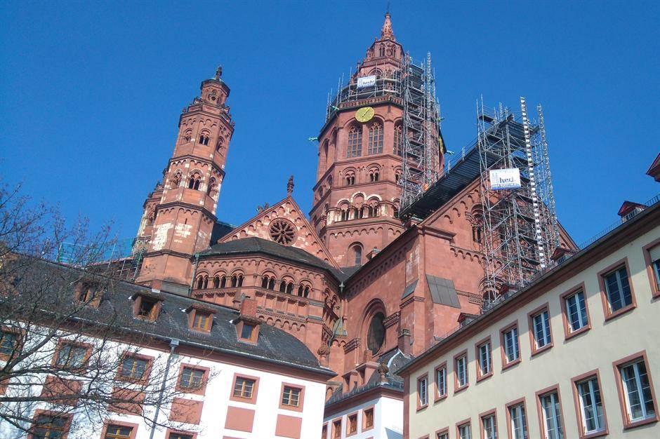 nemačka majnc katedrala