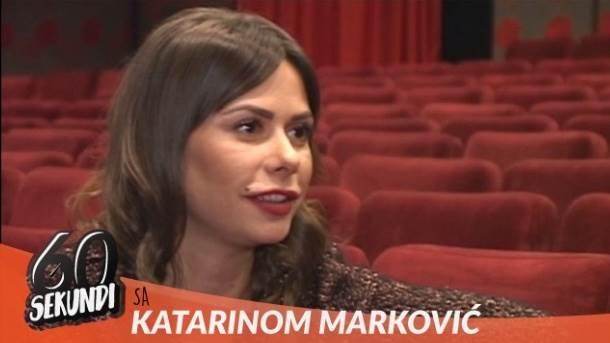Katarina Marković, glumice, mondo tv, 60 sekundi