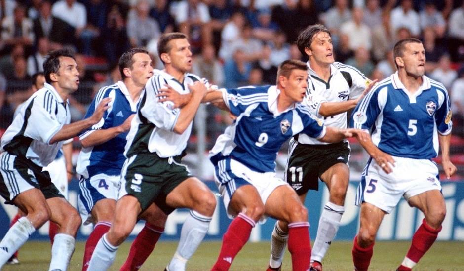Detalj sa utakmice Jugoslavija - Slovenija