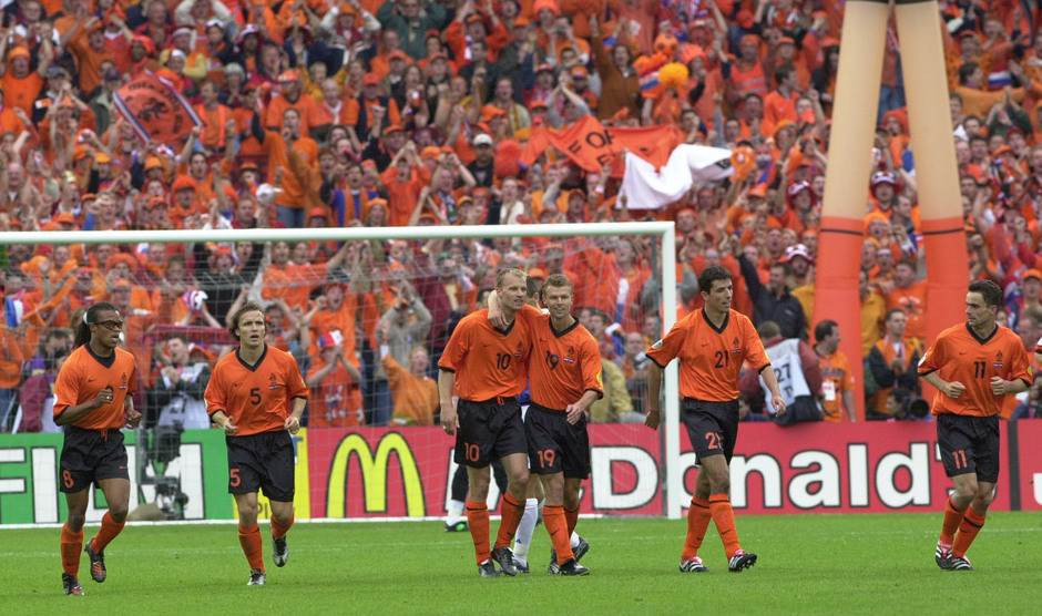Holandija - Jugoslavija 6:1 (25. jun 2000. godine)