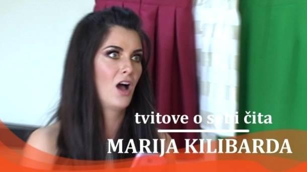 Marija Kilibarda, tvitovi, mondo tv