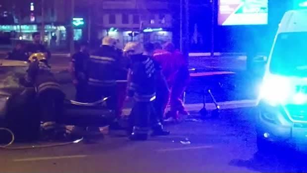 Autokomanda, nesreća