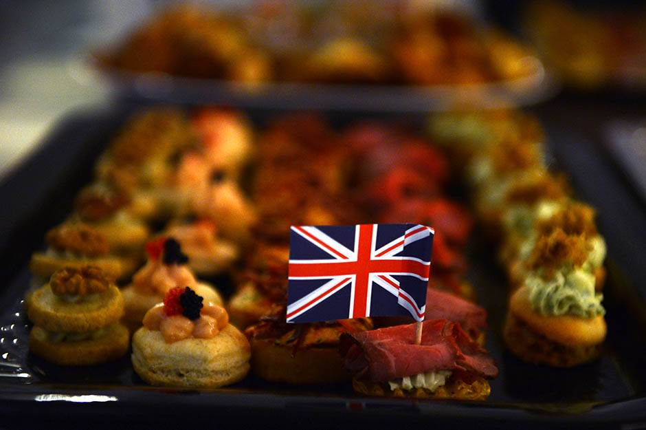 rođendan kraljice elizabete, britanska ambasada