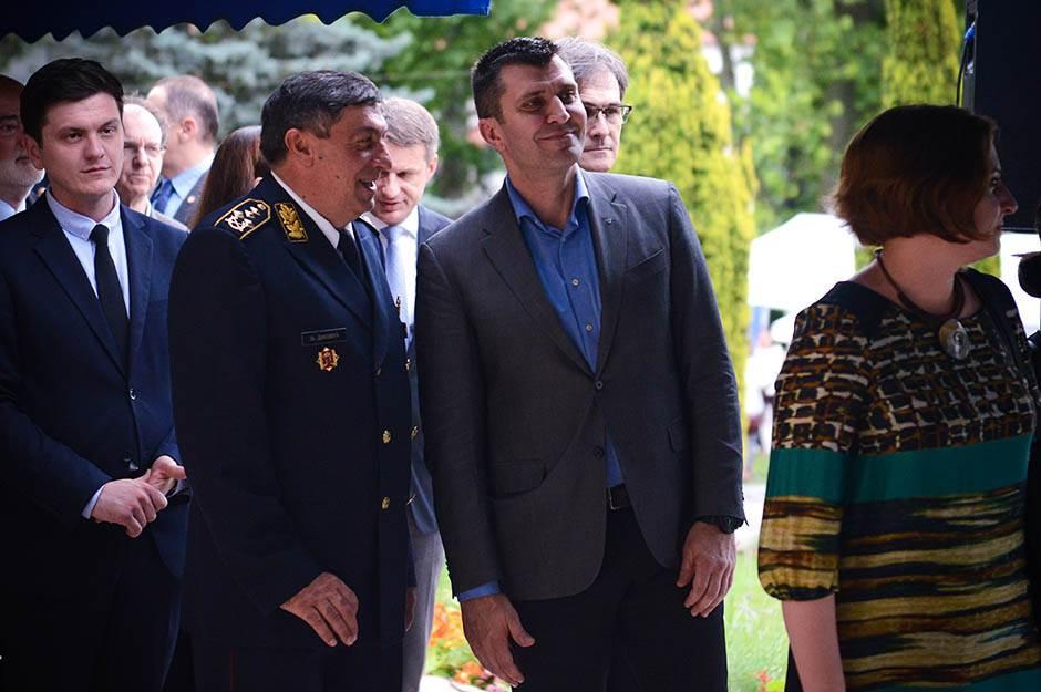 Ministar odbrane Zoran Đorđević