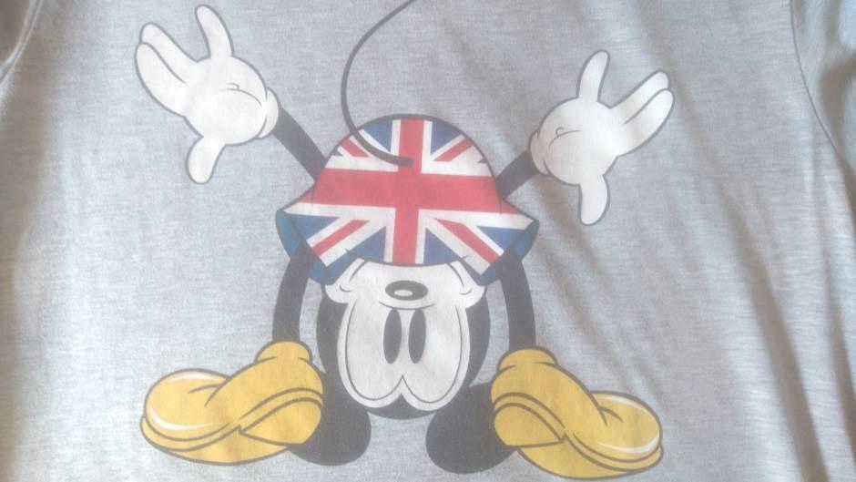 Brexit, BRExit, BREXIT, Britanija, Velika Britanija, referendum o EU, miki maus