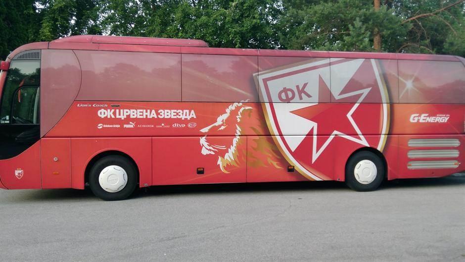 fkcz, zvezda autobus, zvezdin autobus, autobus, fk crvena zvezda
