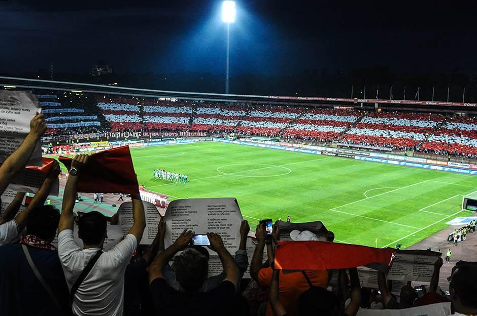 marakana, stdion rajko mitić, delije, navijači,  fk crvena zvezda, ludogorec, kvalifikacije liga šampiona