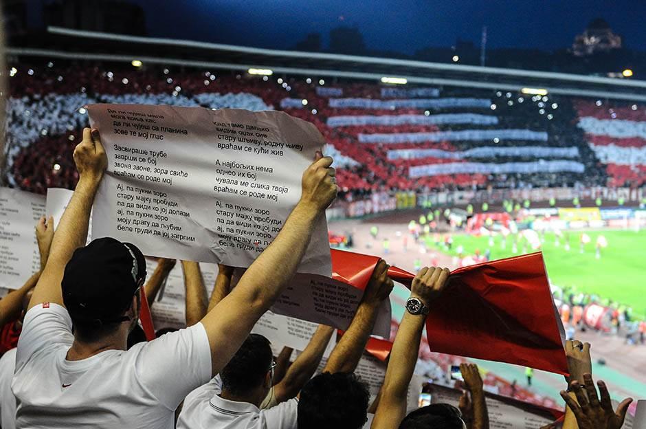 marakana, stdion rajko mitić, navijači, delije, fk crvena zvezda, ludogorec, kvalifikacije liga šampiona