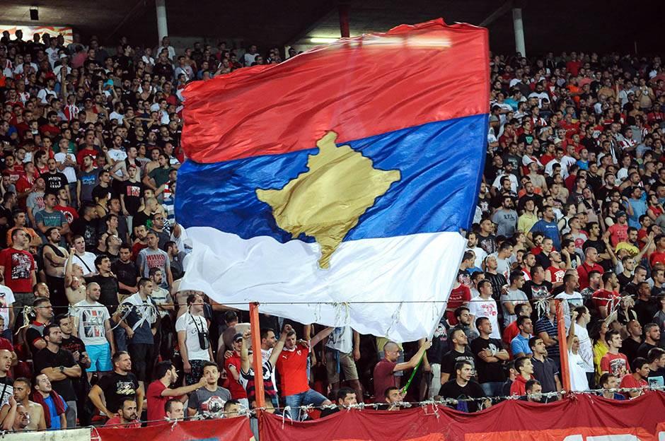 kosovo, marakana, stdion rajko mitić, delije, navijači, fk crvena zvezda, ludogorec, kvalifikacije liga šampiona