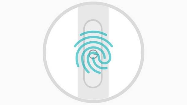 Sony Xperia X skener otiska prsta