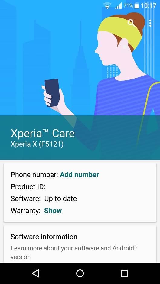 Novi početak: Xperia X