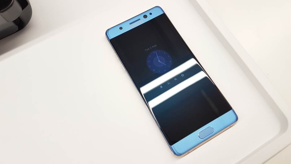Galaktički imperator: Galaxy Note 7 (FOTO, VIDEO)