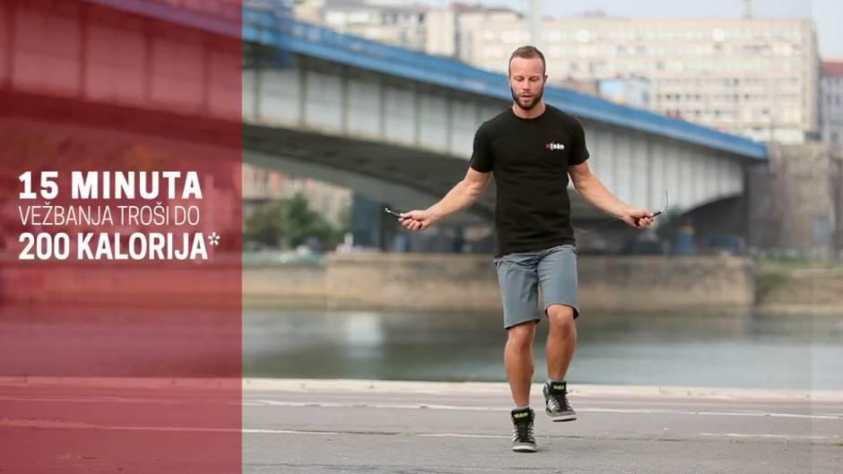 Mondo fitnes, fintes, trčanje, džoging, vežbe, konopac