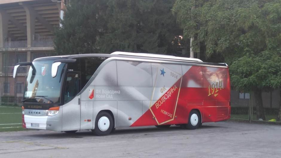 Vojvodina, FK Vojvodina, autobus Vojvodine