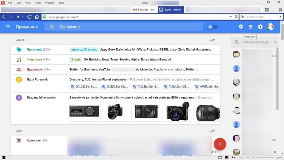 Google gasi svoje mejl aplikacije (FOTO)