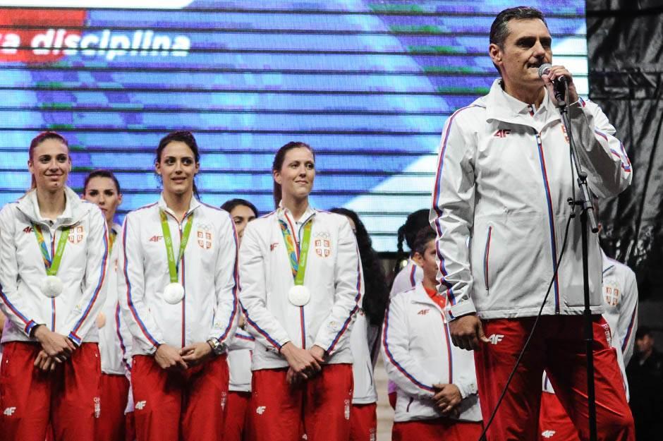 zoran terzić, doček olimpijaca skupština, olimpijske igre rio 2016, sportisti, srbija, doček sportista