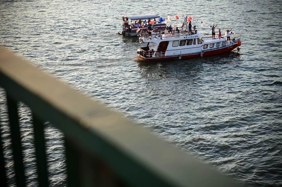 karneval brodova, reka, pristanište, beograd, savska promenada, brod, brodovi, jedrilice, reke, reka sava,