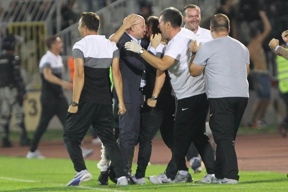 Marko Nikolić Partizan večiti derbi