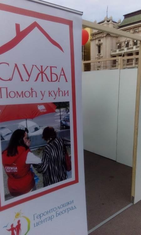 Lavirint na Trgu Republike zbunio Beograđane FOTO