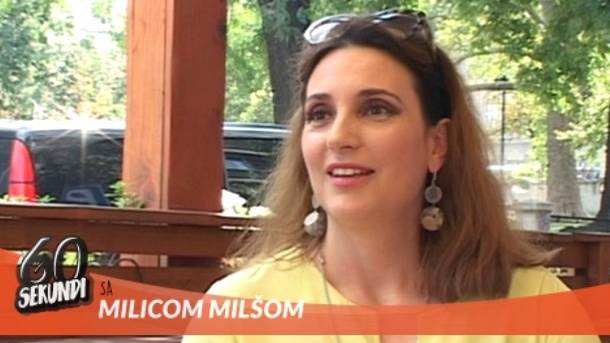 Milica Milša, 60 sekundi, mondo tv