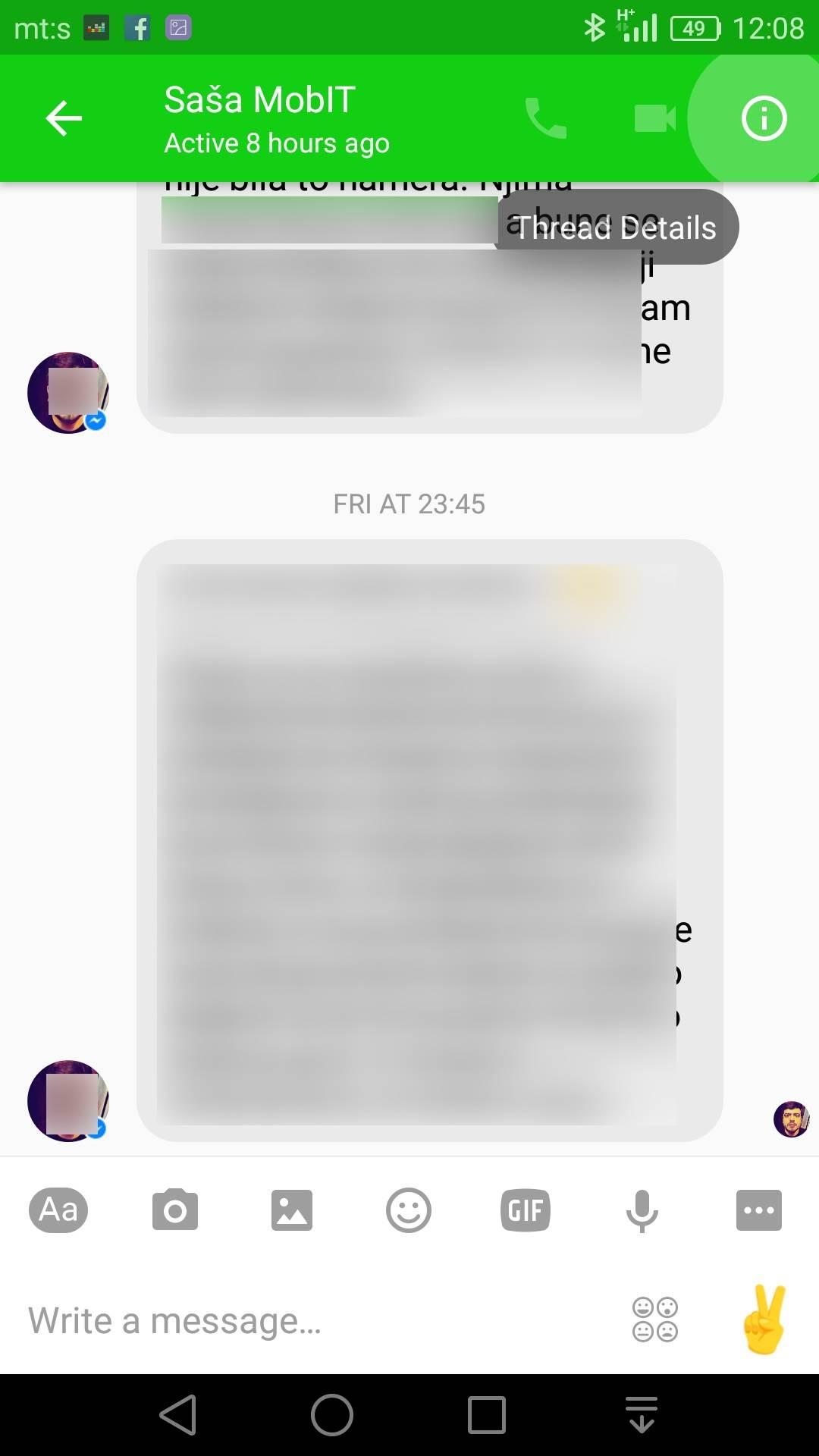 Kako slati tajne Messenger poruke (FOTO)