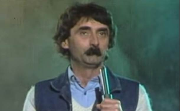 Ljuba Moljac, Miodrag Andrić, glumac Ljuba Moljac