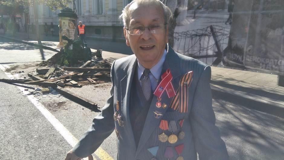 Borislav Filipović - učesnik oslobođenja Beograda 1944. godine.