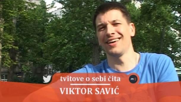 Viktor Savić, tvitovi, tviter, mondo tv