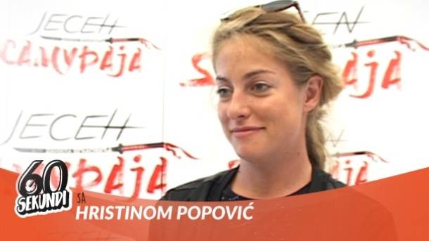 Hristina Popović, mondo tv, 60 sekundi