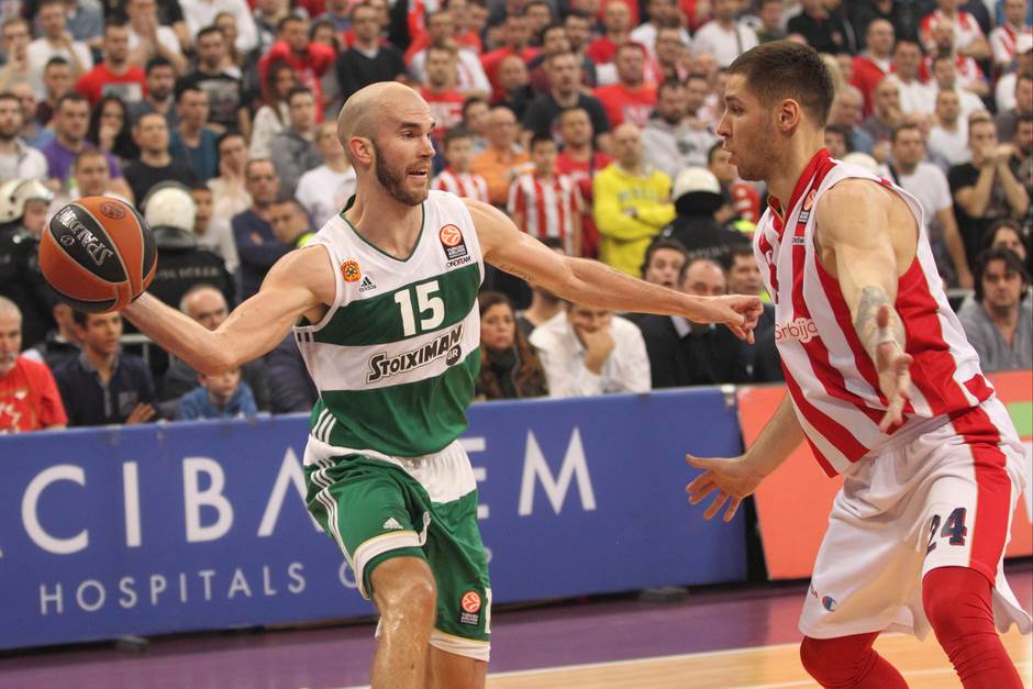 Nik Kalates Stefan Jović Panatinaikos Evroliga Zvezda