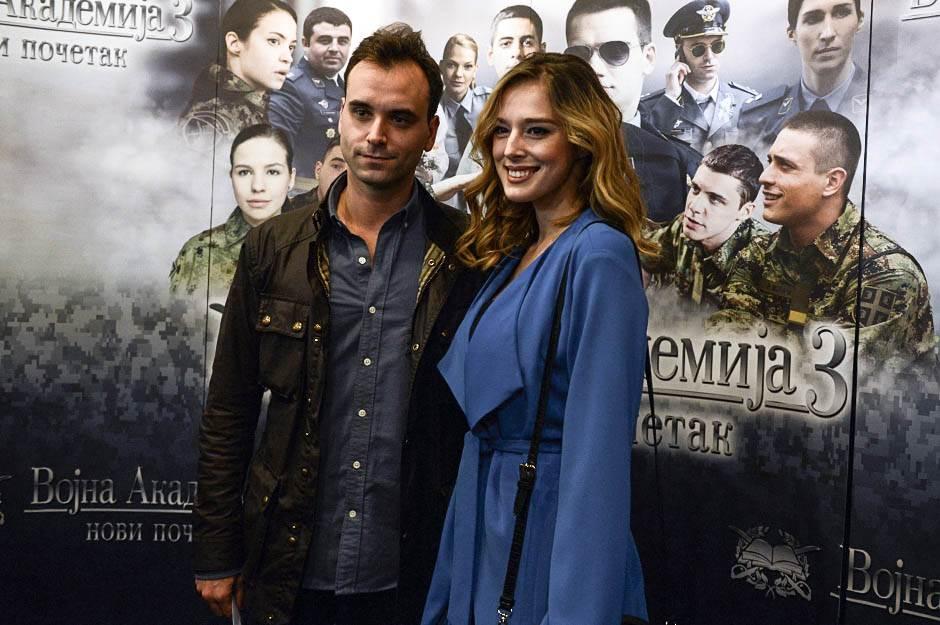 Milena Radulović, vojna akademija 3,