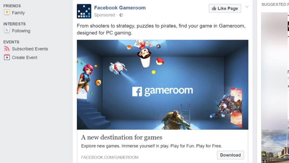 Počelo je, Facebook preuzima svet igara