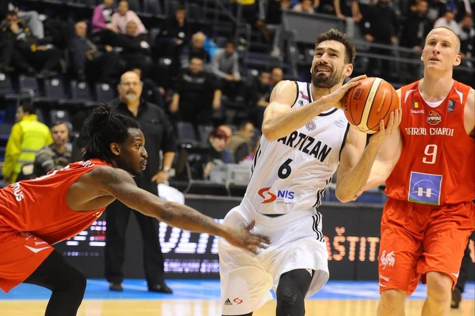 Branislav Ratkovica Partizan Šarlroa