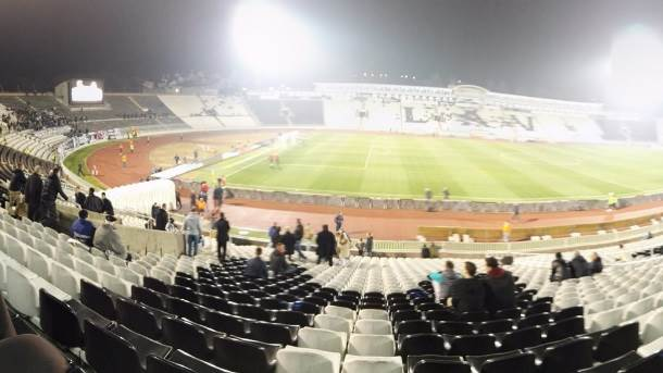 Partizan, stadion Partizana, Humska