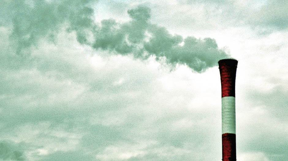 toplana, dimnjak, dim, nebo, grejanje,
