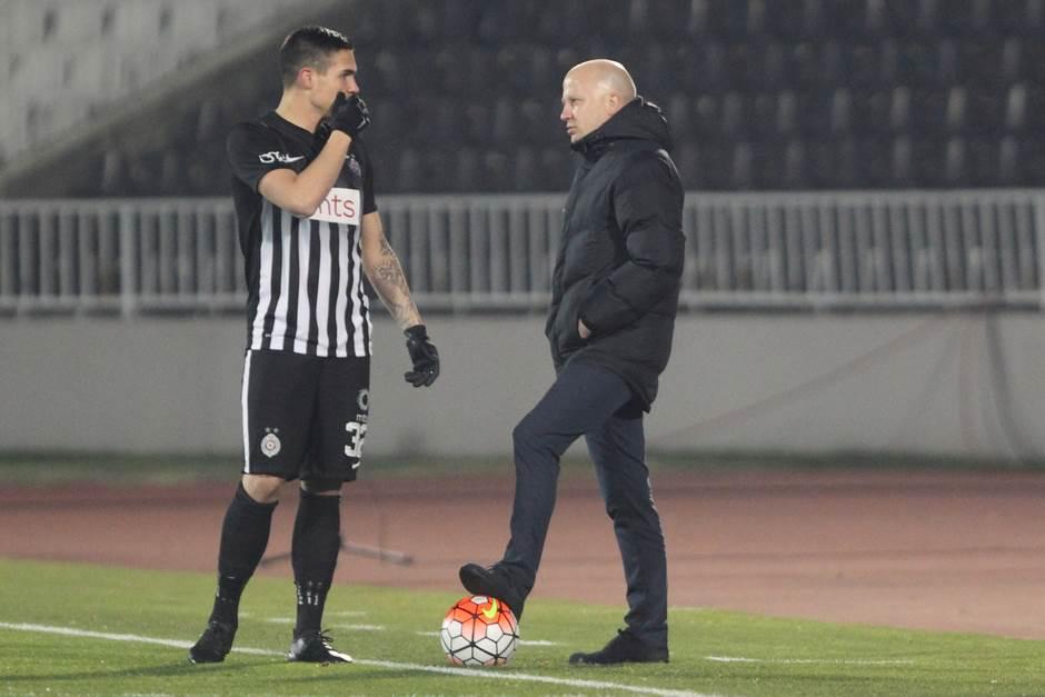 Marko Nikolić, Uroš Đurđević, Partizan