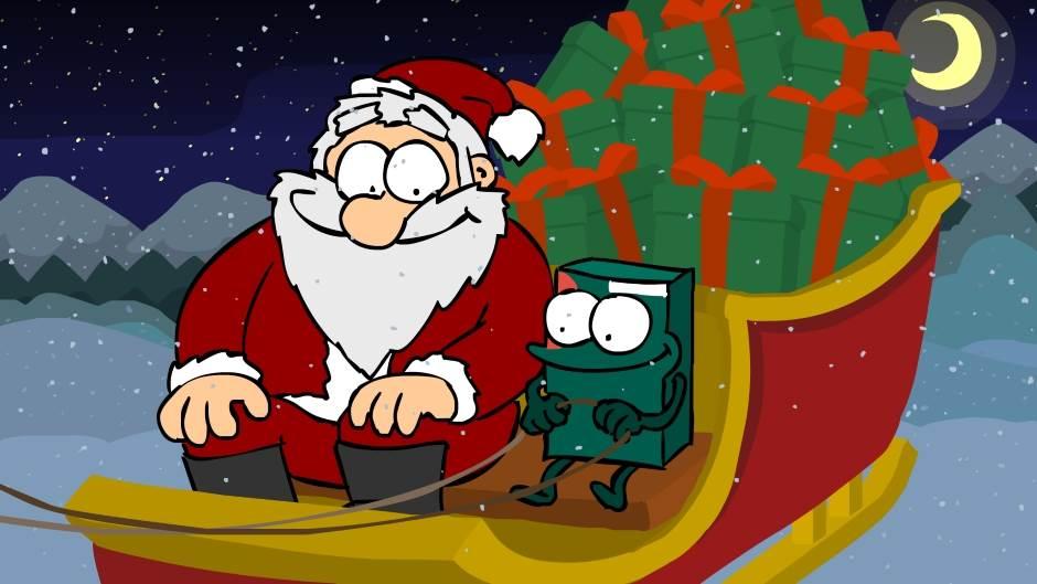 Kaspersky Lab, Nova godina, Deda Mraz