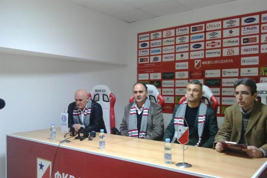 Dragan Ivanović trener Vojvodine