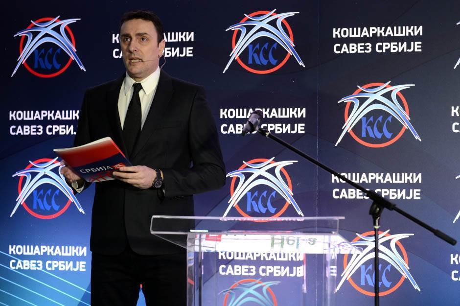 Slobodan Šarenac, kss nagrade, košarkaški savez srbije