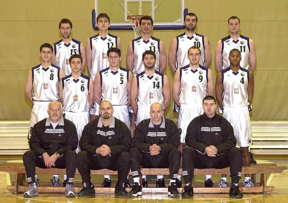 KK Partizan 2000 Krstić Džikić Ruso Varda Berić Čanak Bulatović