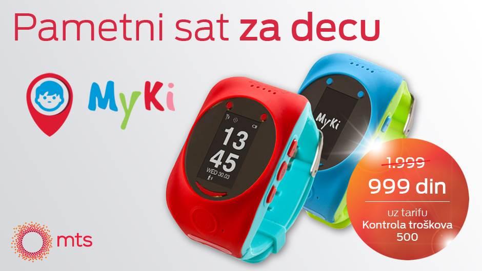 MyKi pametni sat: Zabava za decu, sigurnost za vas