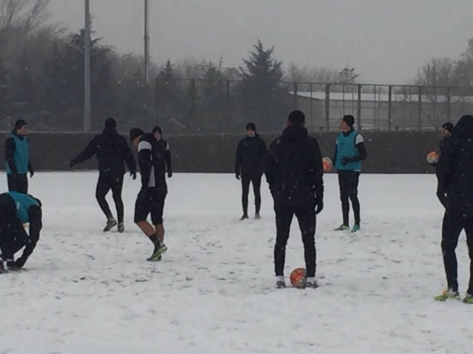 Snežni Partizan kreće po titulu! (FOTO)