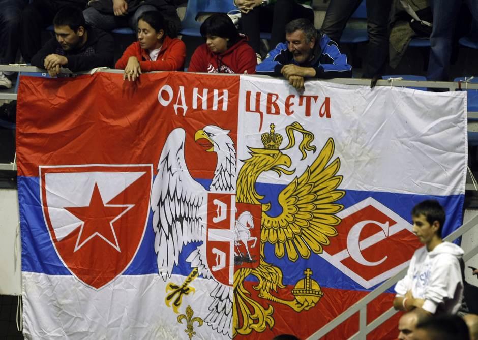 delije moskva, crvena zvezda spartak moskva