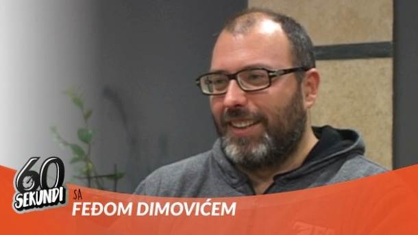 mondo tv, 60 sekundi, Feđa Dimović