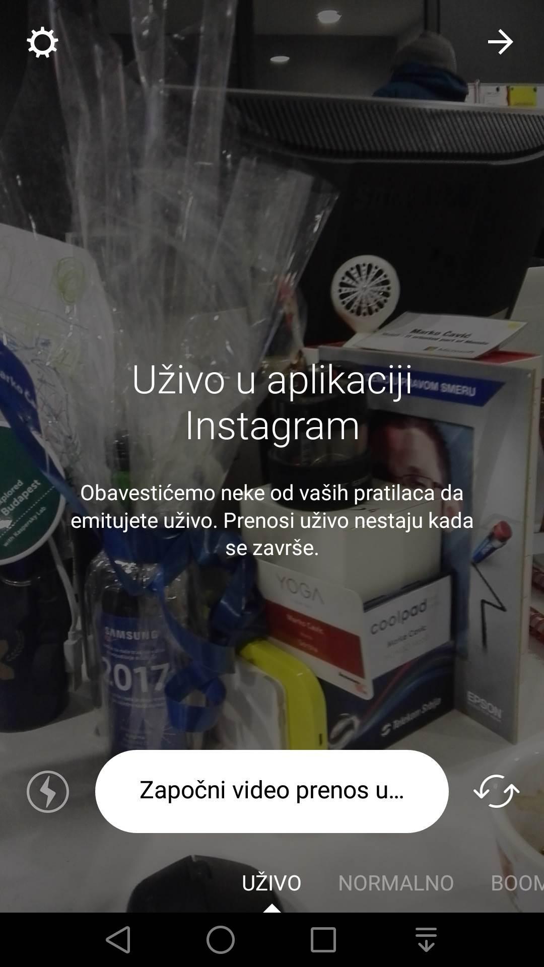 Instagram uživo stigao u Srbiju!