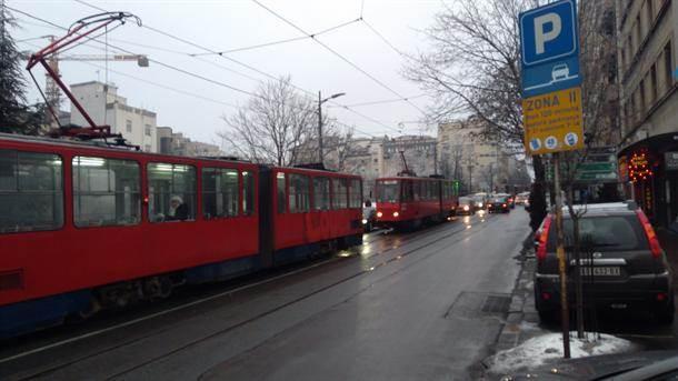 tramvaj tramvaji saobraćaj slavija prevoz gsp