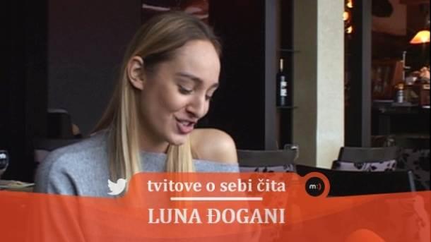 Luna Đogani, mondo tv, tvitovi