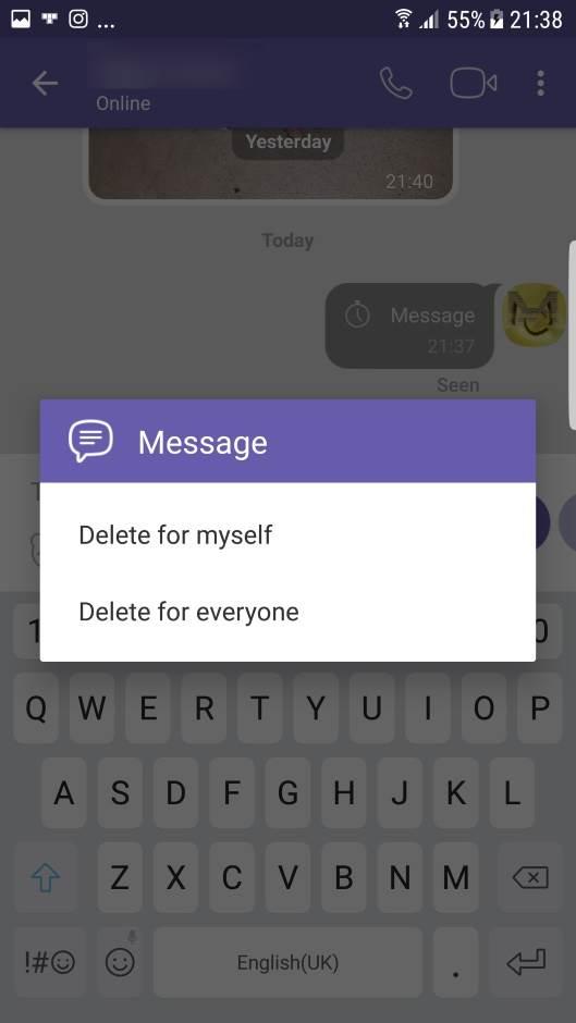 Viber: Kako slati tajne samouništavajuće poruke