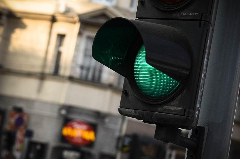 semafor, saobraćaj, zeleno, zeleno svetlo, semafor zeleno,